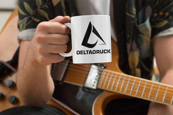 Deltadruck Tassen bedrucken lassen